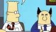 Dilbert and Pointy-Haired Boss