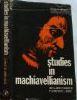 Studies in Machiavellianism